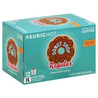 Green Mountain Coffee Donut Shop Blend K-Cup Pods Regular