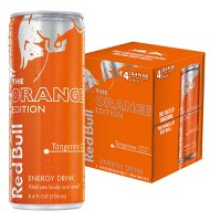 Red Bull Orange Edition Energy Drink - 4pk/8.4fl oz Cans