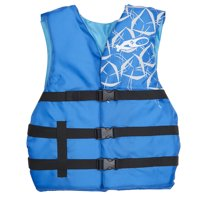 "Universal Life Vest Adult 30-52"" Chest Blue"