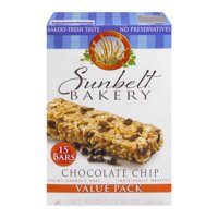 Sunbelt Bakery Chewy Granola Bars, Chocolate Chip, 15 Ct Value Pack, 15.85 Oz