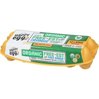 The Happy Egg Co. Organic Large Grade A Eggs, 12 Count