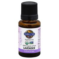 Garden of Life Essential Oils, Calming, Lavender