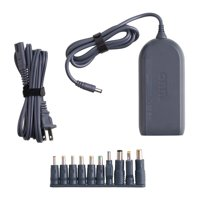 onn. 90W Universal Laptop Charger with 10 Interchangable Tips