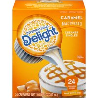 International Delight Caramel Macchiato Coffee Creamer Singles, 24 Count