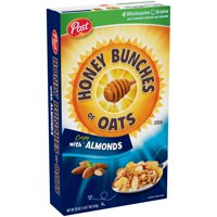 Post Honey Bunches of Oats with Crispy Almonds Cereal, 23 oz. Box
