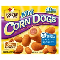 Foster Farms Mini Corn Dogs - 40ct/29.3oz