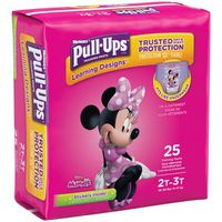 Pull-Ups Size 2T-3T Minnie Mouse Learning Designs Training Pants
