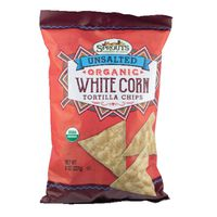 Sprouts Organic Unsalted White Corn Tortilla Chips