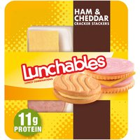Lunchables Ham & Cheddar with Vanilla Creme Cookie Convenience Meal