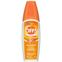 OFF! FamilyCare Insect Repellent IV, Unscented, 6 oz (1 ct)