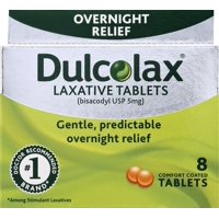 Dulcolax Laxative Tablets, 8ct
