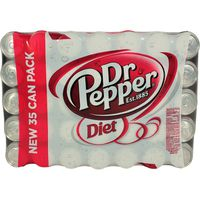 Diet Dr Pepper, 35 x 12 oz