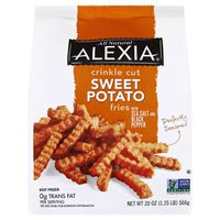 Alexia Crinkle Cut Sweet Potato Fries with Sea Salt and Black Pepper