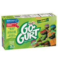 Go-Gurt Yoplait , Teenage Mutant Ninja Turtles Yogurt Variety Pack