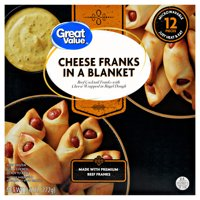 Great Value Cheese Franks in a Blanket, 9.6 oz