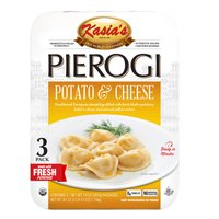 Kasia's Potato & Cheese Pierogi, 3 X 14 oz