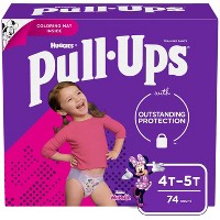 Huggies Pull Ups Learning Designs Girls' Training Pants - (Select Size)
