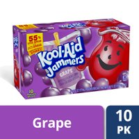 Kool-Aid Jammers Grape Flavored Drink, 10 ct - Pouches, 60.0 fl oz Box