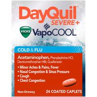 V DayQuil VapoCOOL Daytime Cough, Cold and flu relief