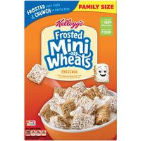 Kellogg's Frosted Mini-Wheats Breakfast Cereal Original