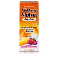Children's Motrin Ibuprofen Kids Medicine, Berry Flavored, 4 fl. oz