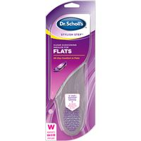 Dr. Scholl's Insoles, Clear Cushioning, for Flats, Size 6-10, Womens