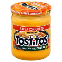 Tostitos Salsa Con Queso Medium
