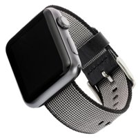 Woven Nylon Band for 38mm/40mm Watch, Black
