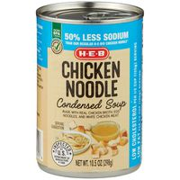 H-E-B Select Ingredients Healthy Chicken Noodle Soup