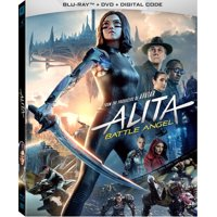 Alita Battle Angel Standard Definition Widescreen (Blu-ray + DVD + Digital Copy)