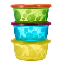 The First Years Take & Toss Baby Food Storage Container, 8 Oz, 6 Pk