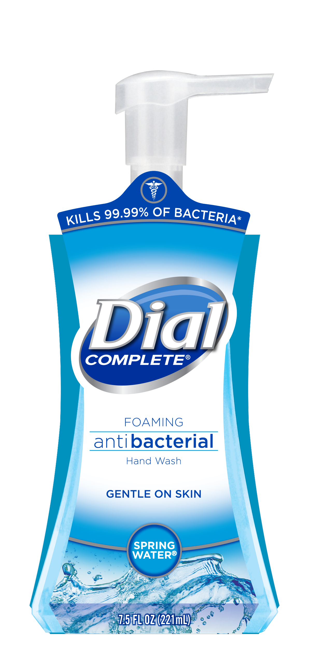 Dial Complete Antibacterial Foaming Hand Wash Spring Water 7 5 Ounce From Walmart In Austin Tx Burpy Com