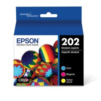 Epson 202 Standard-capacity Color Multi-pack Ink Cartridges for XP-5100 and WF-2860