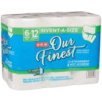H-E-B Our Finest Invent-a-Size Double Roll Paper Towels