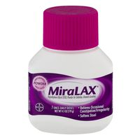 MiraLax Laxative, Osmotic, Powder, Unflavored