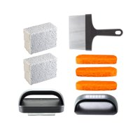 Blackstone 8 Piece Griddle Cleaning Kit Works on Hot or Cold Surfaces