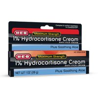 H-e-b 1% Hydrocortisone Cream Anti-itch Cream