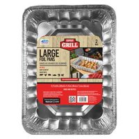 Expert Grill Large Grill Pans 2 Count