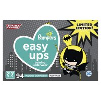 Pampers Easy Ups Justice League Training Underwear Boys Size 4 2T-3T 94 Count