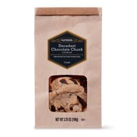 Marketside Decadent Chocolate Chunk Cookies, 3.75 oz, 3 Count