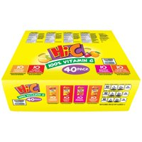 Hi-C Fruit Drink Variety Pack, 6 Fl. Oz., 40 Count