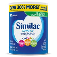Similac Advance Infant Formula with Iron, Powder, 1.93 lb