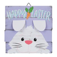 """Way to Celebrate Easter Sign Hanging Decor, 10"""" x 11"""", Multiple Designs"""