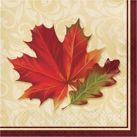 48ct Fall Leaves Napkins