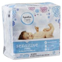 Signature Wipes, Sensitive