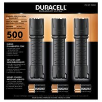 Duracell 500 Lumen Flashlights 3 Pack