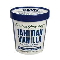Central Market Tahitian Vanilla Ice Cream