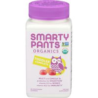 Smarty Pants Organic Toddler Complete Multivitamin