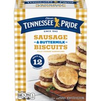 Odoms Tennessee Pride Sausage & Buttermilk Biscuits 12 Count