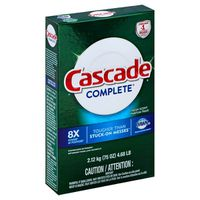 Cascade Complete Powder Dishwasher Detergent, Fresh Scent